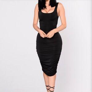 Fashion Nova- Back it up dress